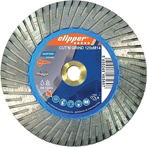 Norton Clipper 70184641172 Kombinationswerkzeug Cut'N Grind 125mm