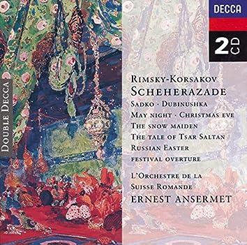 Rimsky-Korsakov: Scheherazade, etc.