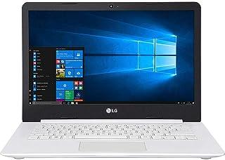 "Notebook LG, 14U380-L.BJ41P1, Intel Core Celeron N4000, 4GB RAM, HD 500GB, Tela 14"", Windows 10, Branco"