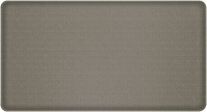 "GelPro Classic Anti-Fatigue Kitchen Comfort Chef Floor Mat, 20x36"", Linen Granite Gray Stain Resistant Surface with 1/2"" Gel Core for Health and Wellness"
