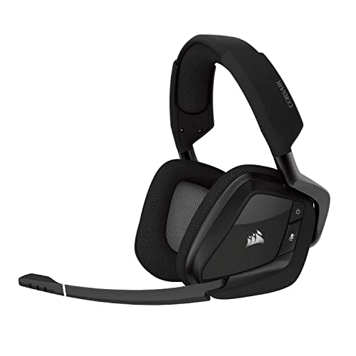 0a354ee8a77 CORSAIR Void PRO RGB Wireless Gaming Headset - Dolby 7.1 Surround Sound  Headphones for PC -