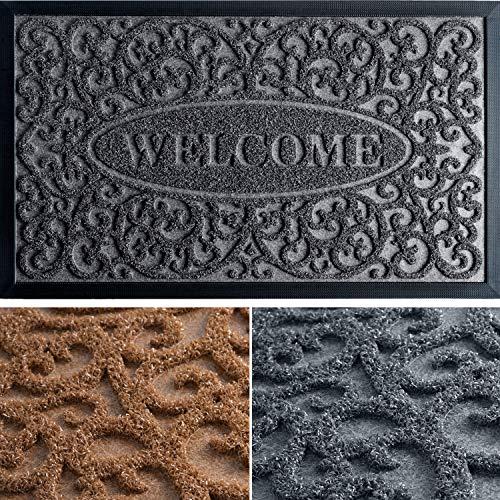 Exclusive Door Mat - Welcome Mats for Front Door - Door Mats for Home Entrance - Funny Doormat - Absorbing Entryway Rug - 30x18 Welcome Mat - Front Door Mat Outdoor - Indoor Door Mat/Outdoor Doormats
