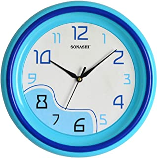 Sonashi Wall Clocks (blue Color) Swc-802