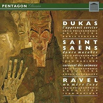 Dukas: L'Apprenti Sorcier, Saint-Saens: Danse Macabre, Le Carnaval des Animeaux & Ravel: Ma Mere L'Oye