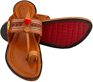 Chappers Royal Exclusively Handcrafted Leather Kolhapuri Chappals for Men