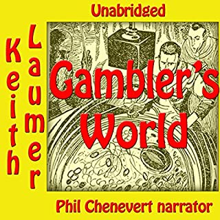 Gambler's World audiobook cover art