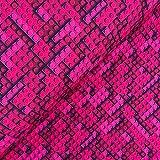 Swafing GmbH Softshell Legosteine pink - Stoff - Meterware