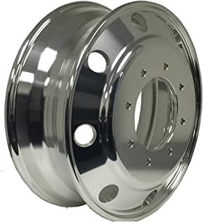 CHEVY 3500 PCD:8X6.5 DUALLY WHEEL A196003 Aluminum Wheels 19.5 x 6 Hub Pilot for (Both side Polish Finished - for All Position)
