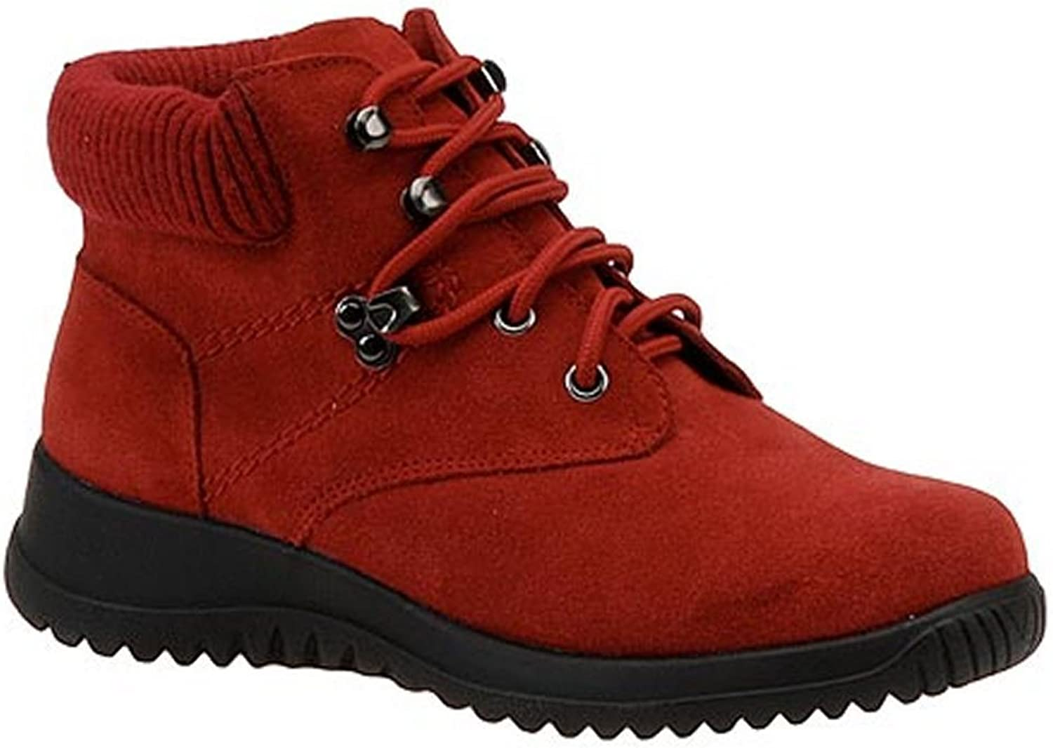 Wanderlust Womens Toe Warmers Boston Leather Closed Toe Ankle Fashion Boots