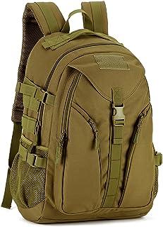 Mochila de Asalto Estilo Militar Táctical Bolsa Impermeable de Nylon 40L para Las Actividades Aire Libre Senderismo Caza Viajar