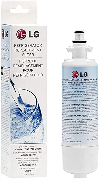 LG LT700P Refrigerator Water Filter ADQ36006101 1 Pack