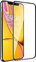 Bovon Verre Trempé pour iPhone XR, [Cadre d'Alignement] [3D Couverture Complète] [Dureté 9H] [Ultra Clair] [Sans Bulles d'AIR] Anti-Rayures Protection Écran Vitre pour iPhone XR [6.1 Pouces] (2018)