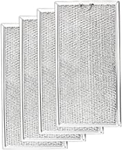 WB06X10596 Grease Filter for G-E Microwave -Aluminum Mesh Filter- Replaces AP3792368 PS952418 (Pack of 4) by Fetechmate