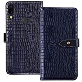 YLYT Shockproof - Blue Flip Leather Luxury Cover With Stand