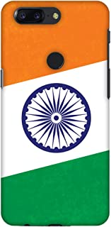OnePlus 5T Case, Premium Handcrafted Designer Hard Shell Snap On Case Shockproof Printed Back Cover for OnePlus 5T - One India