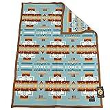 [ペンドルトン] PENDLETON Muchacho baby blanket ZD632 ウール ブランケット ひざ掛けやアウトドアにも最適なムチャチョ ベイビー ブランケット 【並行輸入】 (AQUA/51128)