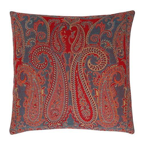 Casa Moro Orientalischer Kissenbezug Nilima-1A 45x45 cm aus Baumwolle & Wolle Premiumqualität | Kunsthandwerk | Zierkissenbezug Sofa-Kissenbezug | Deko-Kissen Zierkissen | A944CC1A