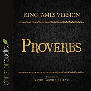 Holy Bible in Audio - King James Version: Proverbs audiobook cover art