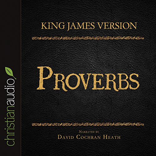 Holy Bible in Audio - King James Version: Proverbs cover art