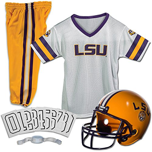 Franklin Sports NCAA Small LSU Tigers Deluxe Uniform Set
