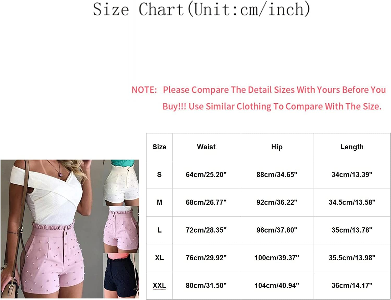 Womens Jeans Shorts Casual High Waist Button Solid Denim Hot Shorts