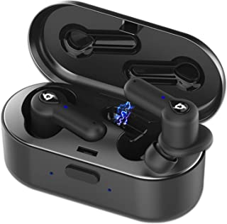 KLIM™ Pods - Auriculares inalámbricos Bluetooth + Excelente Sonido + Óptimo Aislamiento + Emparejamiento fácil y rápido + ...