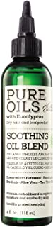 Silk Elements Eucalyptus & Honey Dry Hair & Scalp Relief Soothing Oil Blend