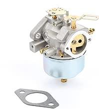 Wilk 632370A Carburetor Carb for Tecumseh 632370 632110 HM100 HMSK90 HMSK100 Snow Blower Generator Chipper