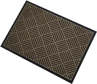 Durable Front Door Mat, Heavy Duty Rubber Outside Floor Rug Doormat for Indoor Outdoor Waterproof Low-Profile Entryway Rug...