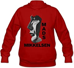 ShowTime Mads Mikkelsen Hannibal Women's Personalized Hoodie Ash