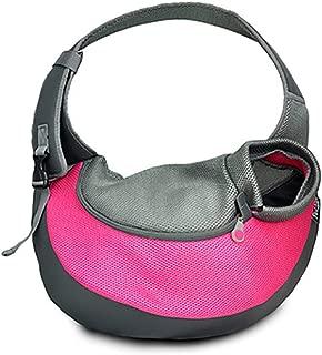 Lodsy 2019 New Breathable Mesh Dog Shoulder Bag Small Dog Sling Front Carrier Comfortable Pet Backpack Carrier