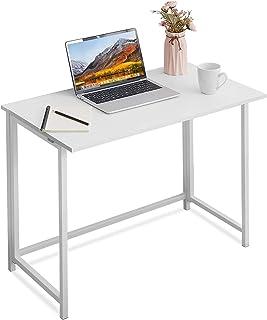 APOWE - Escritorio plegable para ordenador, mesa de oficina, mesa de trabajo, mesa plegable para oficina en casa, mesa par...