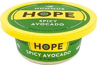 Hope Foods, Spicy Avacado Hummus, 8 oz