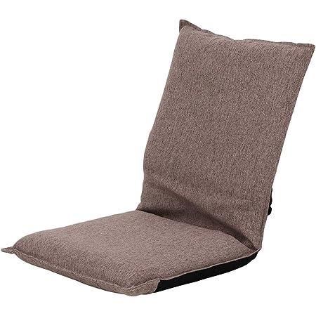 武田コーポレーション 【折りたたみ・省スペース・フロアチェア】 ブラウン 37×48×41㎝ コンパクト座椅子 K0-CZ37BR