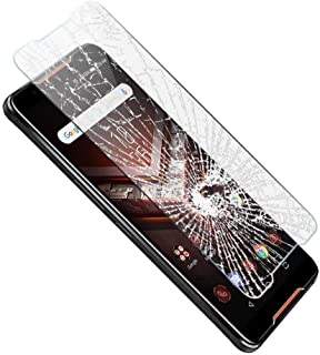 Phone Screen Protectors - 2Pack for ROG Phone II ZS660KL Screen Protector HD Scratch Resistance 9H Hardness Tempered Glass...