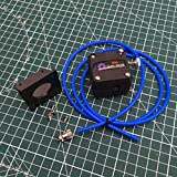 XBaofu Impresora 1pcs 3D Impresora de Aluminio CR-10 BMG Monte Dual Drive Kit Extrusora for Creality CR-10 / Ender 3D (tamaño : Mini Kit)