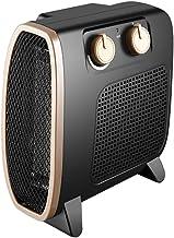 OCYE Mini Calentador, Calentador Vertical y Horizontal de Doble propósito para Toda la casa, bajo y sin Olor, Adecuado para Dormitorio, Estudio, calefacción de Oficina, Negro, Blanco