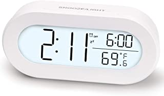 Sponsored Ad - AIJIAXING Digital Alarm Clocks for Desk or Bedroom, Small Alarm Clocks for Kids,with Soft Backlight, Snooze...