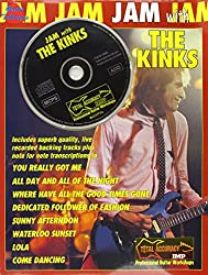 Jam with the kinks guitare+cd