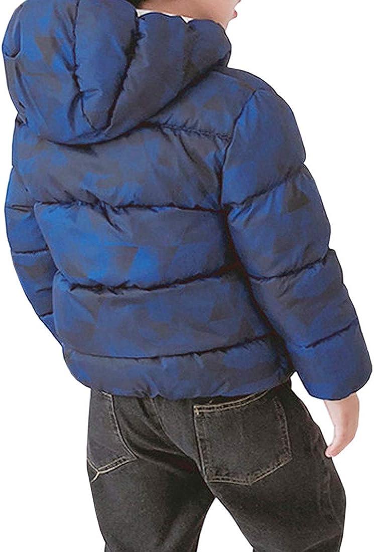 KELUOSI M/ädchen Winterjacke Jacke Baby M/ädchen Herbst Winter Kapuzenjacke W/ärme Winterm/äntel mit Kapuze