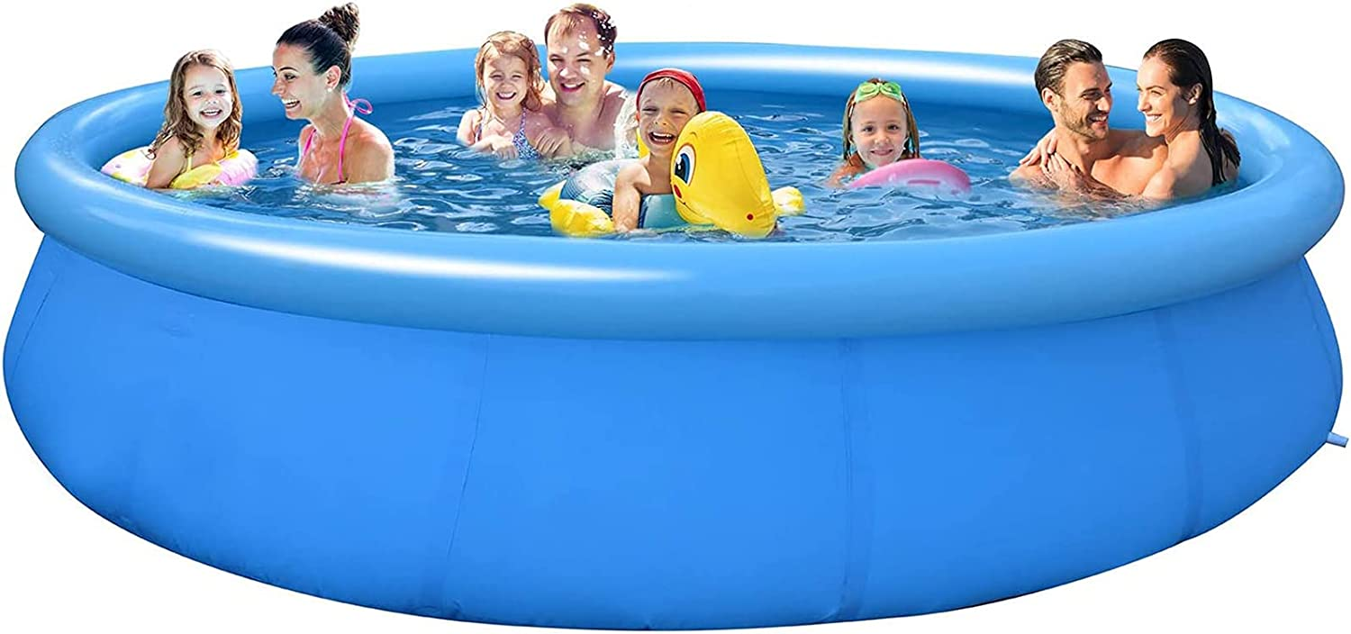 DPPAN 12ft x 30 in Overseas parallel import regular item Inflatable w Above Ground Pool Swimming Daily bargain sale