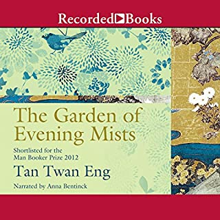 The Garden of Evening Mists audiobook cover art