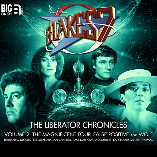 Blake's 7 - The Liberator Chronicles Volume 2                   By:                                                                                                                                 Simon Guerrier,                                                                                        Eddie Robson,                                                                                        Nigel Fairs                               Narrated by:                                                                                                                                 Jan Chappell,                                                                                        Paul Darrow,                                                                                        Jacqueline Pearce,                   and others                 Length: 3 hrs and 13 mins     6 ratings     Overall 4.8