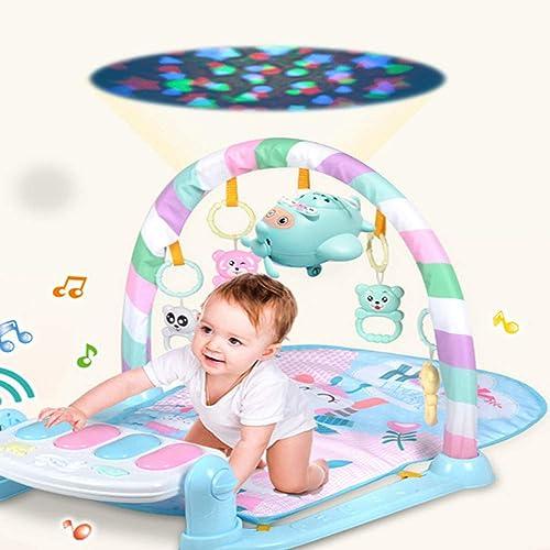 TKFY Nouveau-né Piano à pédale Couverture Musique Enfants Puzzle bébé précoce éducation Fitness Rack bébé Jouet Multi-Fonctionnel 0-1 Ans