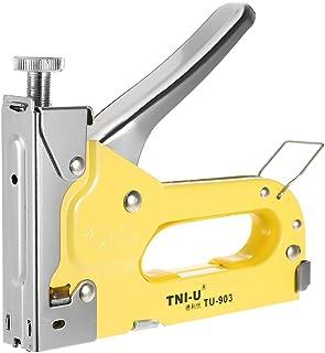 Tykeed TU-903 3 Ways Stapler Staple Heavy Duty Chrome U-Shape Nails Stapler Nailer