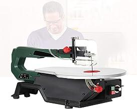 Sierra de calar de 120 W, sierra de calar de mesa con 30 hojas de sierra, profundidad de corte de 50 mm / 2