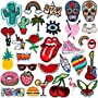 Patch Sticker - RYMALL 32 PC Patch Sticker, Cute DIY Ropa Parches para la camiseta Jeans...