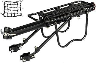 Bike Rack VTT Si/ège Arri/ère Cargo Rack /À V/élo /Équipement De Stand pour V/élo Porte-Bagages Noir