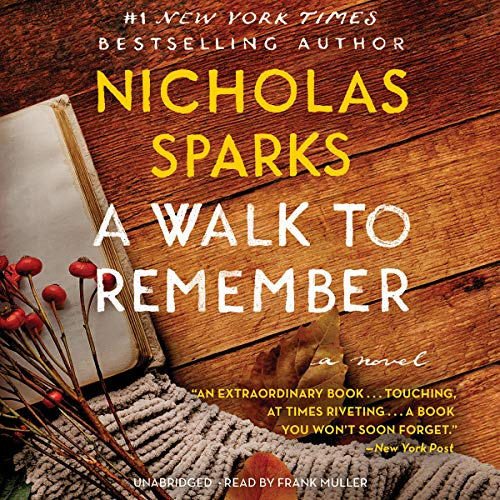 A Walk to Remember audiobook cover art
