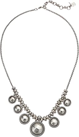 Chain Bead Collar Necklace